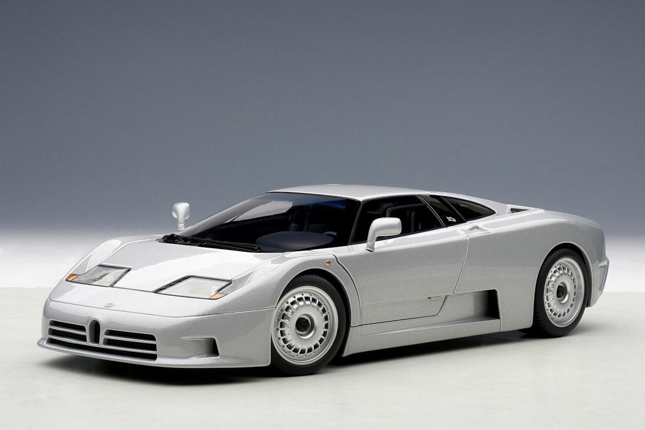 Auto Art Bugatti EB110 GT 1991 silver 1 18