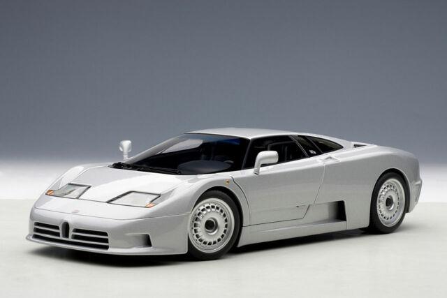 Auto Art Bugatti EB110 Gt 1991 Plata 1:18