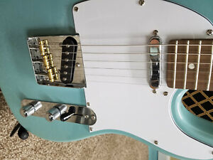 Xaviere xv 820 pro telecaster guitar with mods and fender logo
