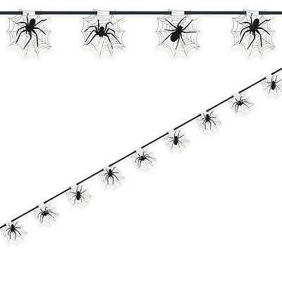Halloween Decorations Creepy Spider & Web Banner/Bunting-Halloween Party