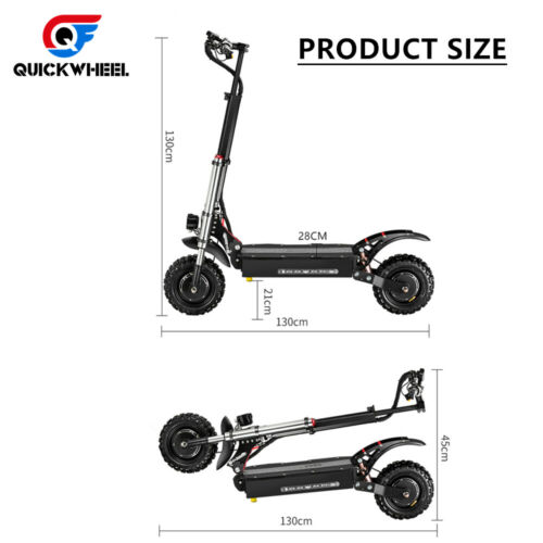 QuickWheel-60V-5000W-Foldable-Dual-Motor-Dualtron-Electric-Scooter-For-Adults