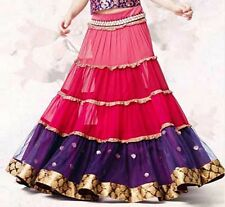 Edd Special 2017 Traditional Belly Dance Tribal Bollywood lengha saree skirt Top