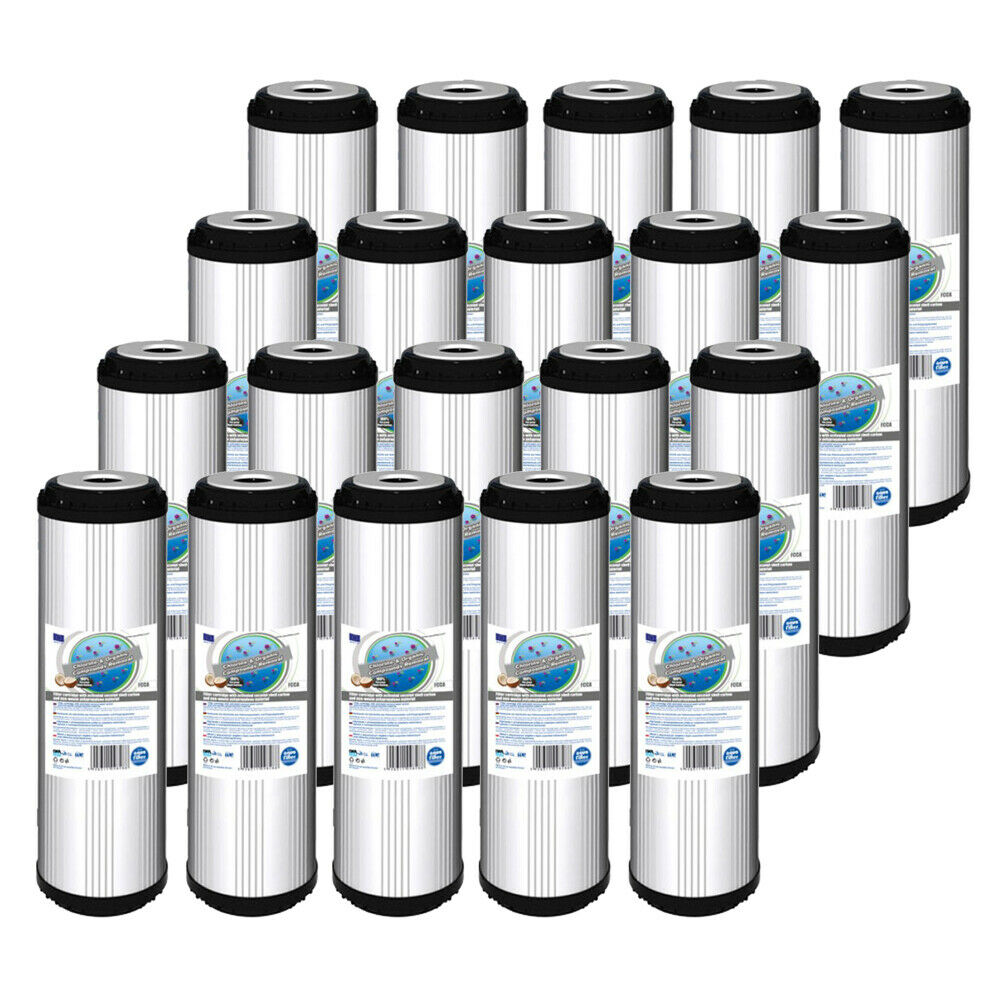 20pk Activated Carbon Water Filter 10  ideal for Reverse Osmosis