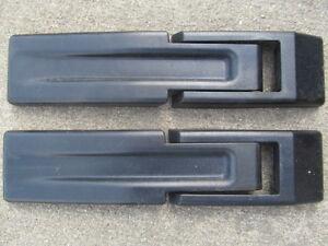 2004 05 06 Jeep Wrangler Tj Rear Tail Gate Hinge Covers Ebay