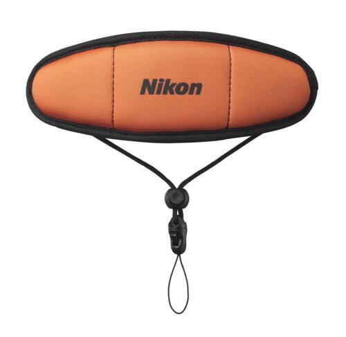 Nueva Cámara Nikon Flotador Original Correa De Muñeca ftst 1OR naranja de Japón
