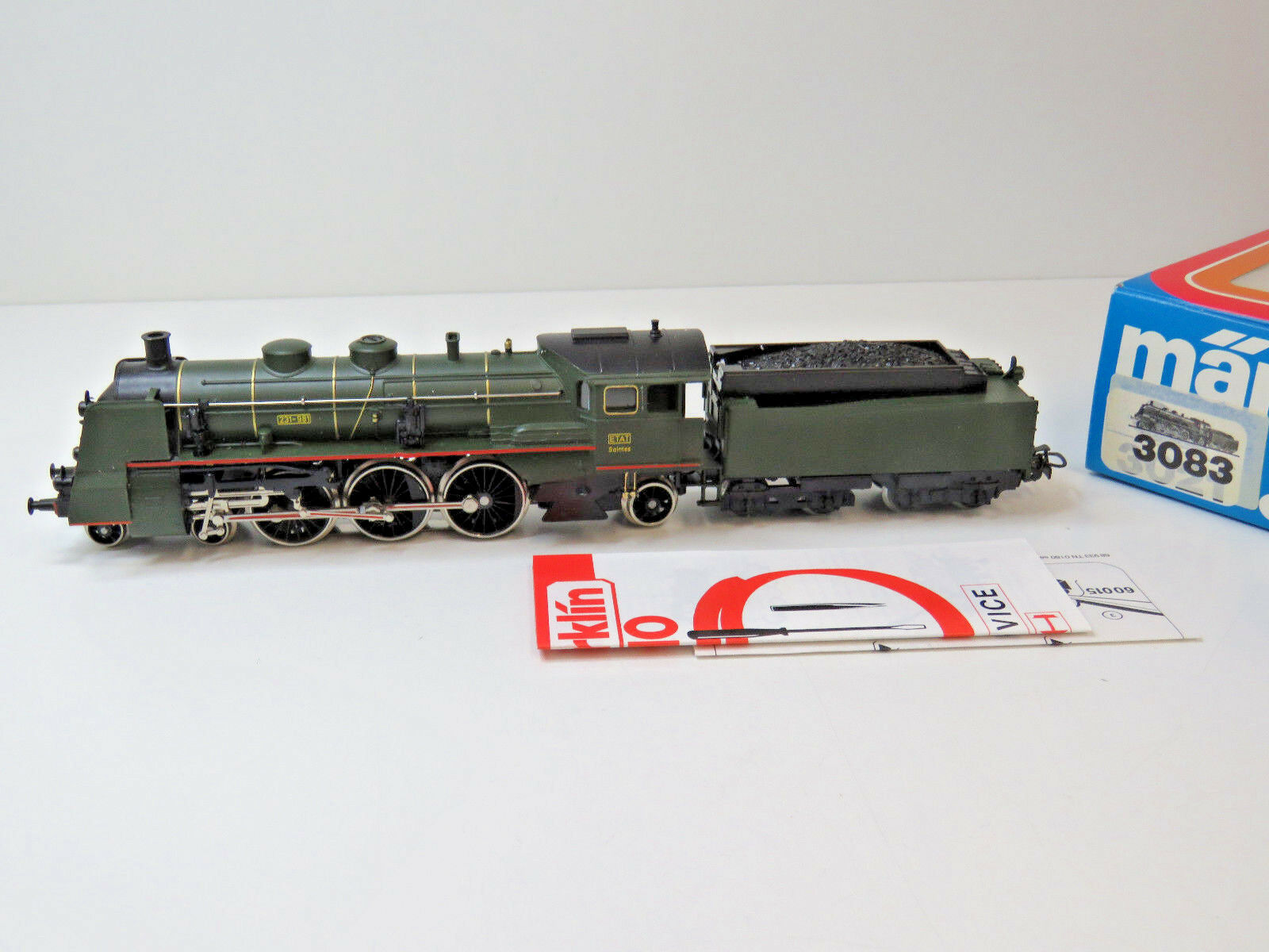 Locomotiva serie 231-981 della SNCF, Etat, Epoca III,   HO, 3083,ovp, WS