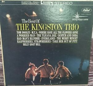 The-best-of-the-Kingston-Trio-LP-Record