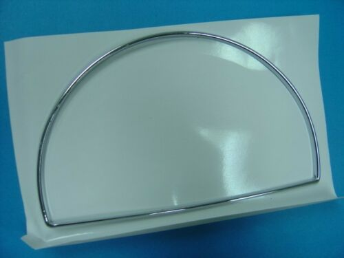 CHROME STAINLESS GAUGE CLUSTER FRAMES FOR 2000-2007 MERCEDES BENZ W203 C-CLASS