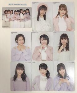 Juice-Buen-Bye-amp-Suerte-Intercambio-Tarjeta-Completo-9-Juego-Japon-Idol