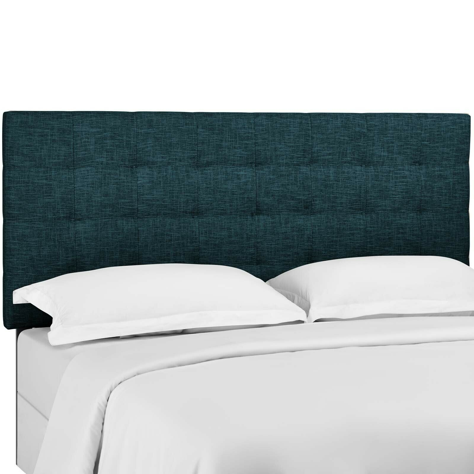 Modway Tufted Full Queen Upholstered Linen Fabric Headboard Mod 5852 Whi For Sale Online Ebay