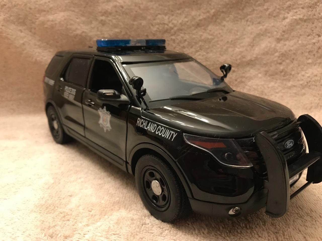 1   18 skala richland county sheriff sc - ford suv w   arbeiten mit licht und sirenen