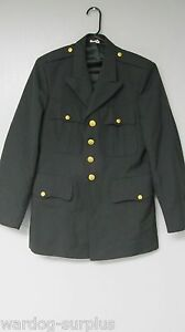 COAT-MENS-US-ARMY-GREEN-CLASS-A-DRESS-JACKET-SERVICE-SUIT-UNIFORM-MANY-SIZES