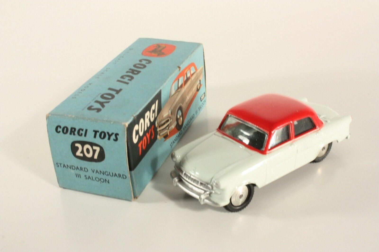 Corgi Toys 207 Standard Vanguard III Saloon, Mint in Box  ab2260