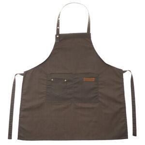Adjustable-Bib-Apron-Dress-Kitchen-Restaurant-Chef-Classic-Cooking-Uniform