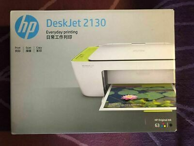 HP DeskJet 2130 All-In-One Wireless Printer New Sealed ...