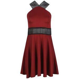 RED-MESH-PANELLED-SKATER-DRESS-SIZE-10