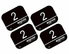 4 Pack Size #2 Apixia Scanner ScanX Air Tech Type X-Ray Phosphor Plates PSP FDA