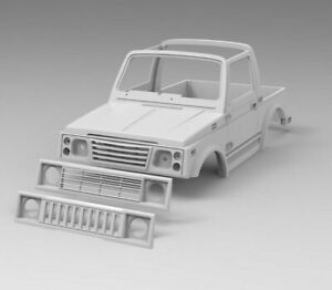 Details about RC body Suzuki Samurai Soft Top with custom grill 3D printed  RC car