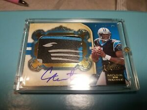 Cam-newton-rookie-auto-mint-06-49-logo-patch-national-treasures-gold