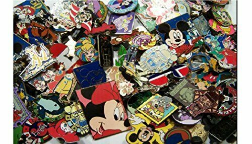 Disney Trading Pins-Lot of 25-No Duplicates-LE-HM-Rack-Cast by Ale/'x New
