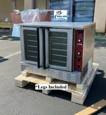 New Commercial Electric Convection Oven Full Size With Legs Kitchen Nsf Etl 240v