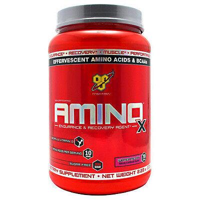 BSN Amino X BCAA Amino Acids Large 70 Servings - Choose Flavor AminoX