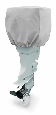 600 Denier Boat Engine Motor Hood Outboard Cover 4 strokes 120HP-250HP BLUE