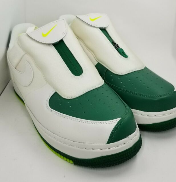 Nike Air Force 1 '07 PRM 3 Green Running Shoes AT4144 300 Wmns AT4144 300