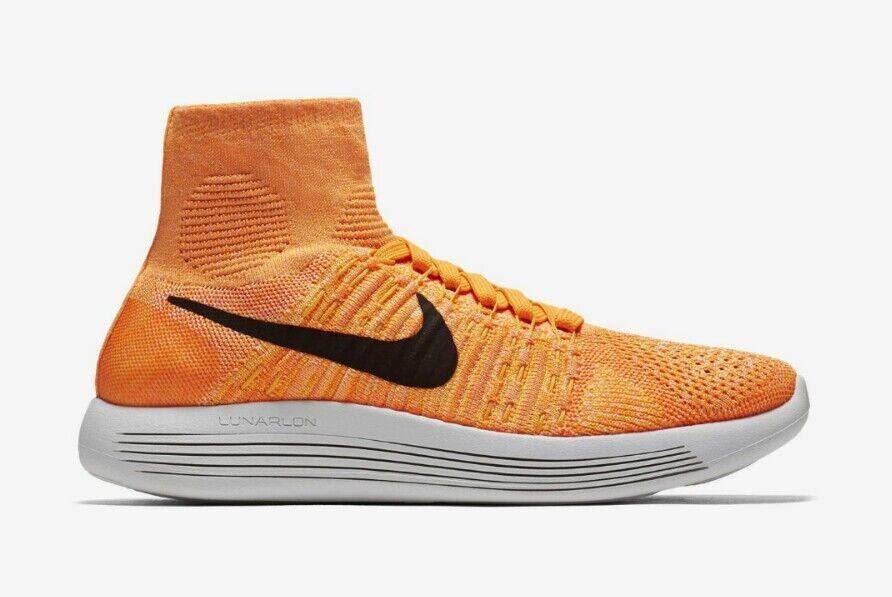 Nike Lunarepic 10 Flyknit Trainer Women's US 10 Lunarepic Orange 818677-801 NEW 175 26e217