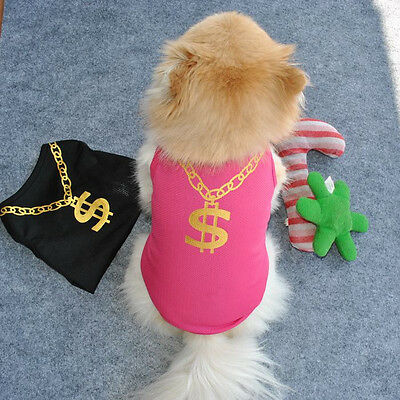 Summer Various Pet Puppy Small Dog Cat Pet Clothes Vest T Shirt Apparel Clothes