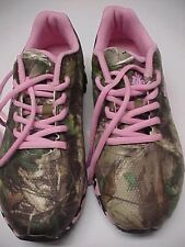 Women's REALTREE GIRL Mamba Hot Pink Camouflage Cross Training Shoe 8M New