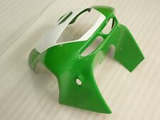 Front upper nose top FAIRING For Kawasaki Ninja ZX6R 95 96 97 Plastic GN/WH Cowl