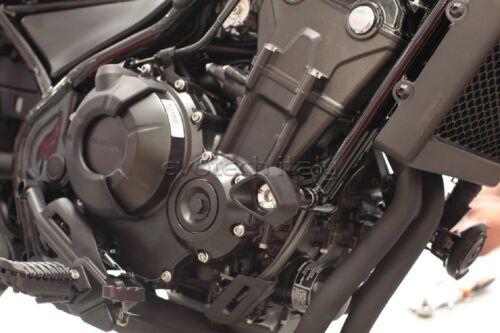 Sturzpads für Honda 500 Rebel Hergestellt Italien Evotech Slider Crashpad 2018