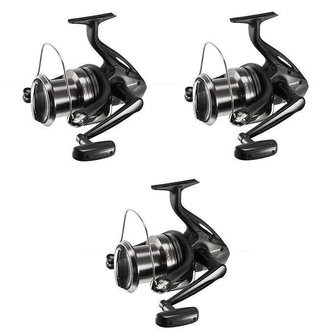 Shimano 3x Beastmaster 10000 XB Carp Fishing Reel Big Pit NEW - BMBP10000XB