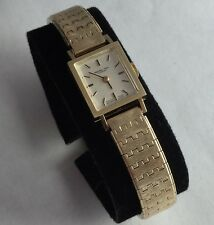 Marshall Field & CO 14K Solid Gold Case 17 Jewels Ladies Watch
