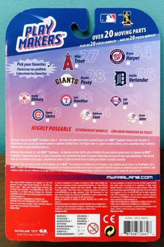 Bryce Harper Philadelphia Phillies Rouge Jouer Makers McFarlane ACTION FIGURE NEW