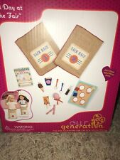 """Our Generation A Day at the Fair 21 Piece Set for 18/"""" Dolls American Girl"""
