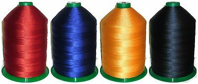 STRONG BONDED NYLON THREAD IPCABOND 20/'S 100MTR SPOOL VARIOUS COLOURS