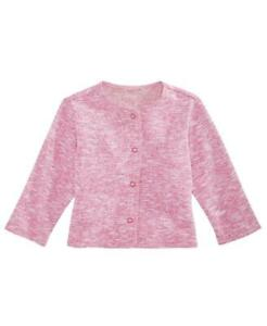 First Impressions Bébé Fille Chiné Bouton Avant Pull Cardigan Taille 12 Mois