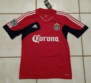 9e585f3176c NWT ADIDAS Chivas USA MLS Soccer Jersey Men's Medium 886049189414 | eBay