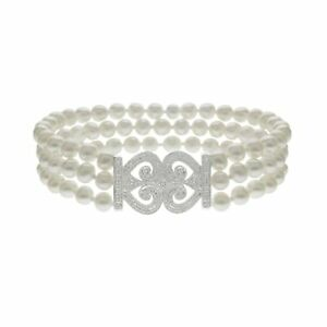 Freshwater-Pearl-and-1-6-ct-Diamond-Bracelet-in-14K-White-Gold