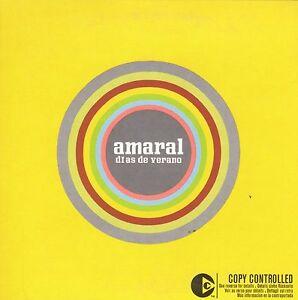 AMARAL-DIAS-DE-VERANO-CD-SINGLE-PROMO-CARPETA-CARTON