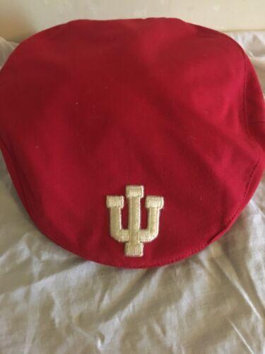 Vintage Indiana University Newsboy Hat