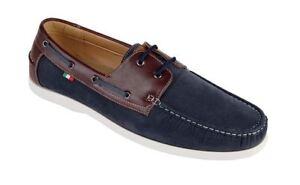 D555-Cuero-Piel-Sintetica-Ante-MIX-Cintas-Zapatos-Nauticos-Luther