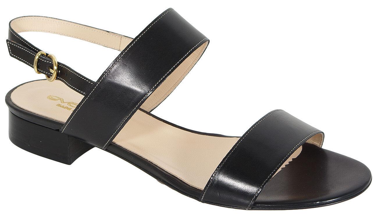 EVALUNA 3159 VITELLO noir sandals sale