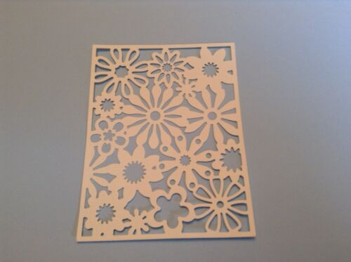 8  x Floral fusion background die cuts**FREE POSTAGE***