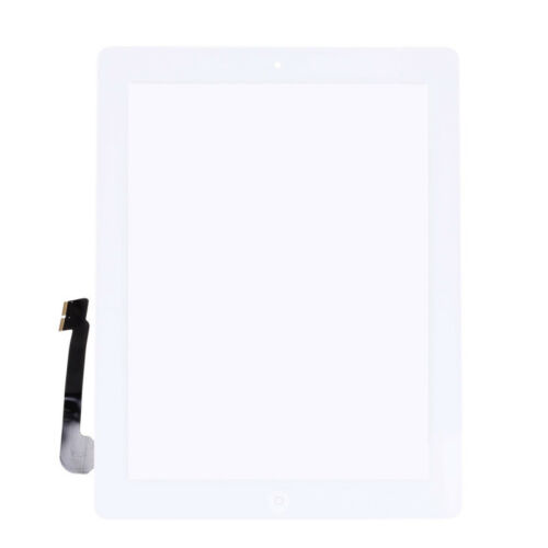 REPLACEMENT TOUCH SCREEN DIGITIZER FOR IPAD3//4+MID FRAME BEZEL HOME BUTTON EIO