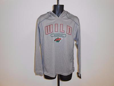 Hockey-other New Nhl Minnesota Wild Adult Mens Small S Light Weight Hoodie 75ag Waterproof Shock-Resistant And Antimagnetic