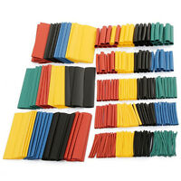 328 Pcs 5 Colors 8 Sizes Assorted 2:1 Heat Shrink Tubing Wrap Sleeve Kit top HIU