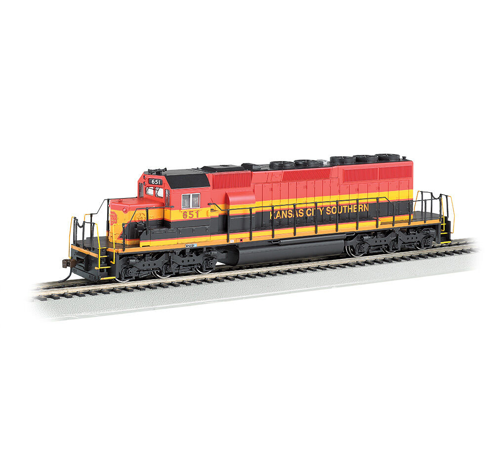 HO-Gauge - Bachmann - Kansas City Southern EMD SD40-2 Diesel Locomotive
